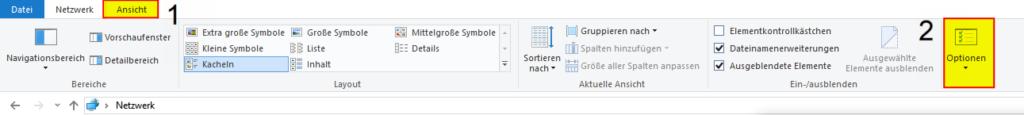 Dateiendung anzeigen Windows 10, 2-1