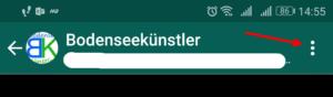 WhatsApp Menü