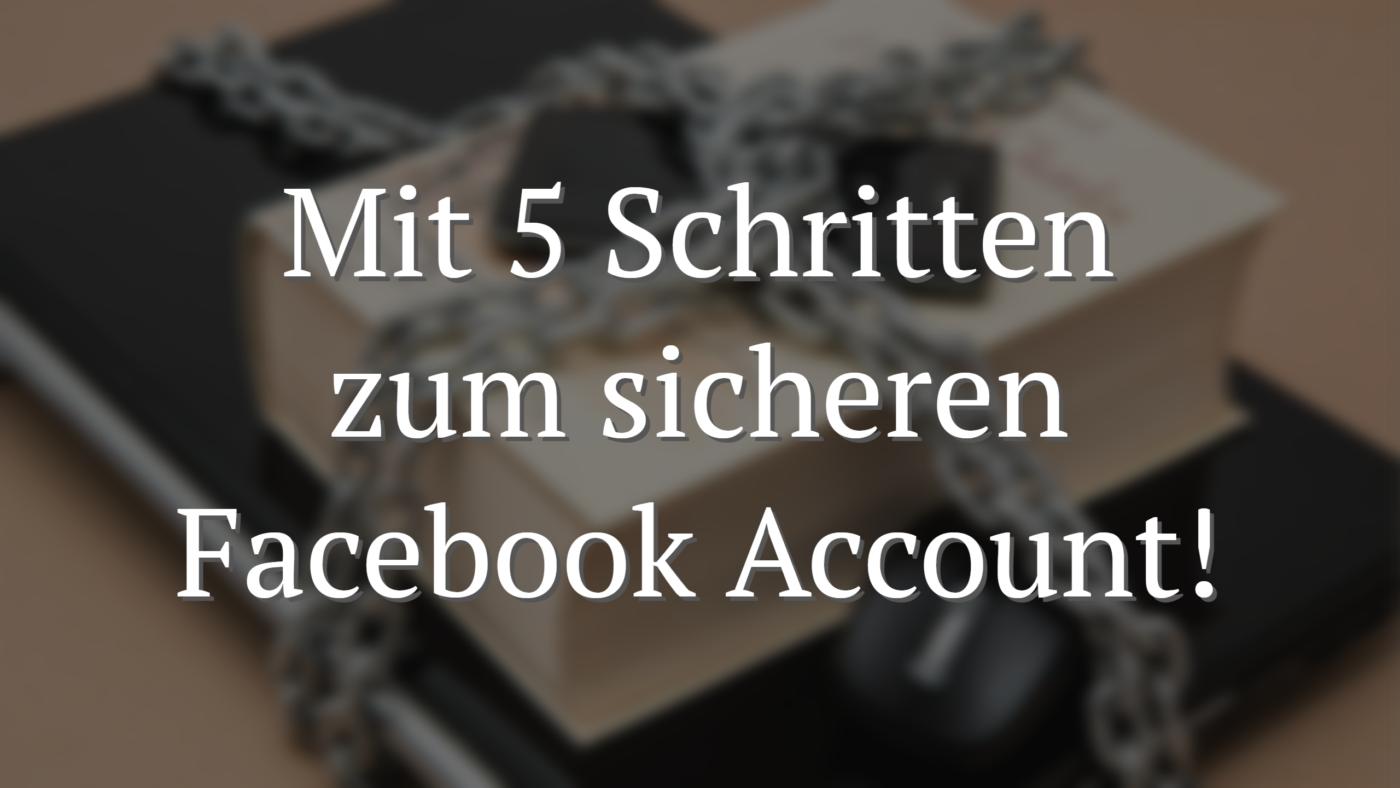 Facebook Sicherheit
