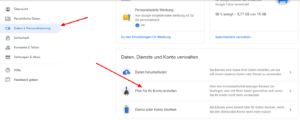google-nachlass-google