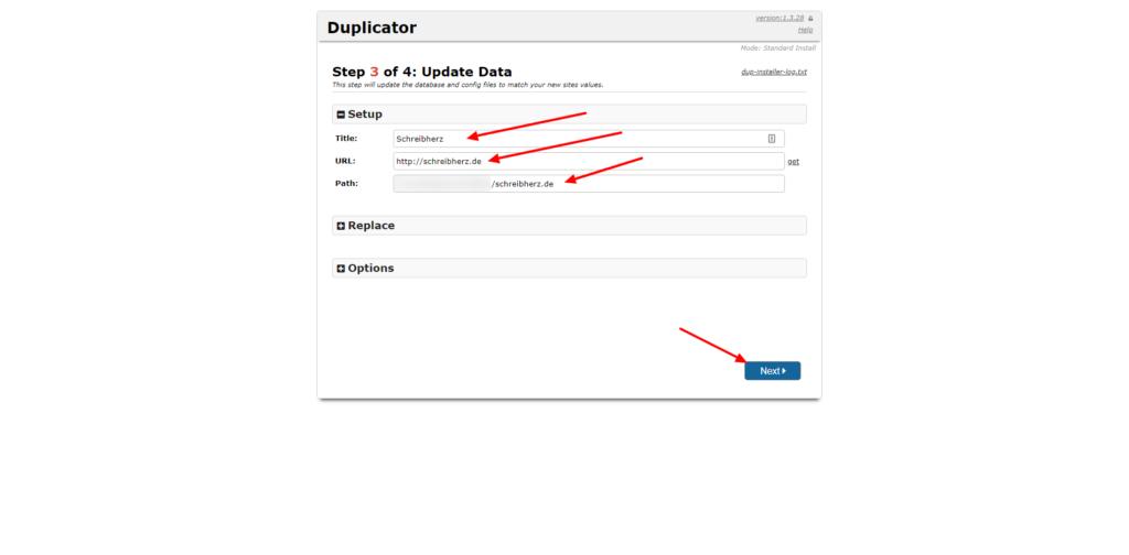 3Schritt-Duplicator