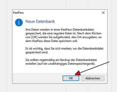 KeePass Datenbank 2