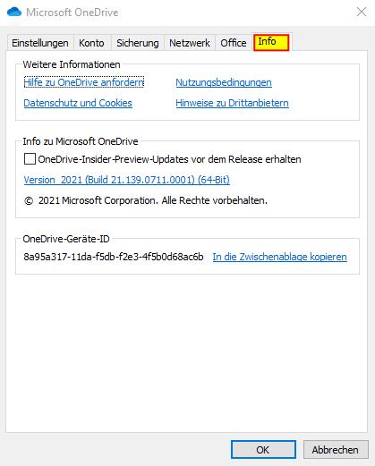 07 Microsoft OneDrive Info